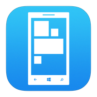 Windows Phone icon iOS 7 style by mironich63