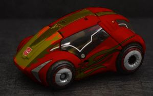 Transformers Hot Rod WFC by teh-peng00in