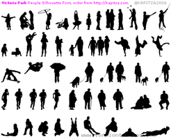 silhouette brushes by scratchy22