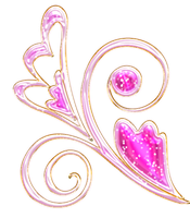 pink swirls png by Melissa-tm