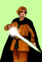 Luke Skywalker by HoneyJadeCrab