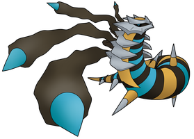 Shiny Giratina by Xstrawberry-queenX