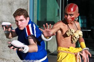 Abel Dhalsim Tagteam by Mastershambler