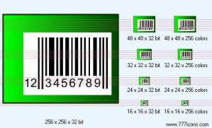 Bar-code Icon by medical-icon-set