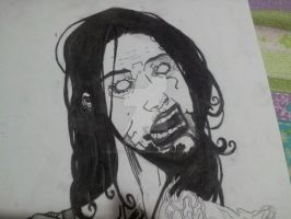 Charcoal Zombie (In Progress) 2 by SGreavesPhotography