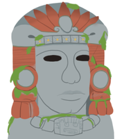 Just Olmec by DragonKazooie89