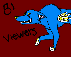 81 viewers: Thank you by The-Lovestruck-Fox