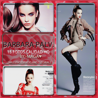 +Photopack Barbara Palvin 11~SPAT by Maga-Bellarina