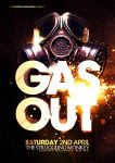 Gas Out Flyer Design by danwilko