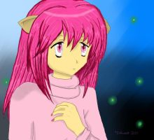 A - Nyu from Elfen Lied by Inlinverst