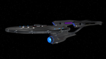 Alternate Reality USS Enterprise NCC-1701 Refit by Marksman104