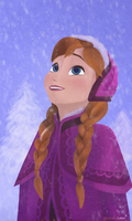 Princess Anna by AJsCanvas