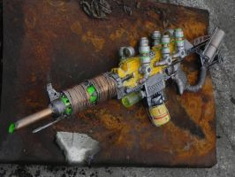 Fallout plasma rifle by Sam-Castle