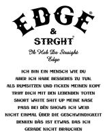 STRAIGHT EDGE FOR MY LIVE by adha-azaky