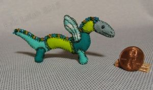 Mini Patchwork Dragon No. 21 by Kyle-Lefort