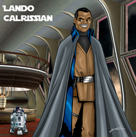 Lando Calrissian by jedijorel