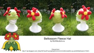 Bellossom Fleece Hat by KiraTakuto