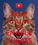 Keep Calm and Enable Cheats (SeaNanners) by LittleFlower23