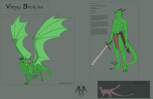 Varanis Blackclaw Basic Reference by AshasCadence