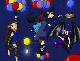 Balloon Party by charryblossom