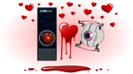 GLaDOS and HAL9000 4 ever - New and Improved by Dragoliz
