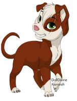 Daggerheart (Rping dog) by kovu-and-kiara-love