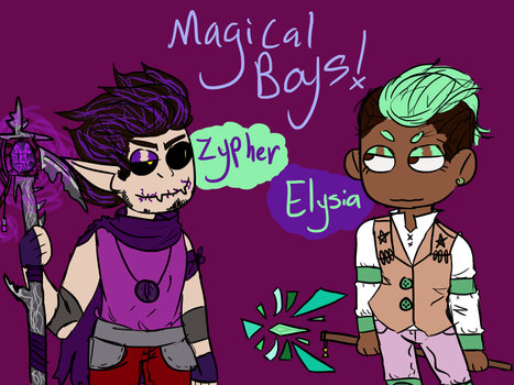 Magical Bois by zombienarwall