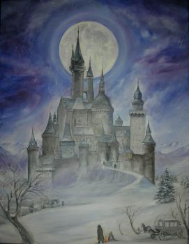 Gothic Castle by dashinvaine