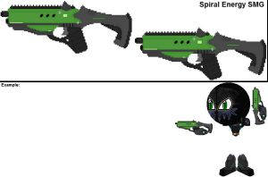Spiral Energy SMG by YellowNinja123