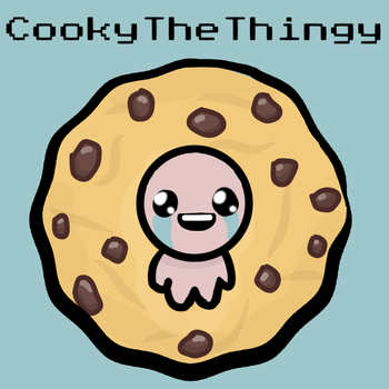 Binding Of Issac Commission PFP by ZeroFaded