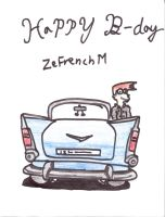 Happy B day ZeFrenchM by KwangRae