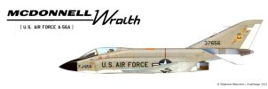McDonnell A-56A Wraith by Bispro