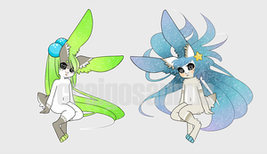 Mini Space Bunny adopt 3-4 [for sale] by Craig-adopts