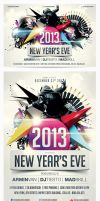 2013 New Years Eve Party Flyer Vol.2 by saltshaker911