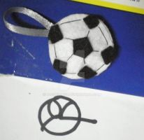 Football keyholder by 402ShionS3