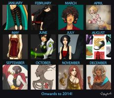 Art Summary 2013 by Magdorf
