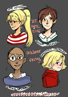 The Mysterious Benedict Society by streaksketcher