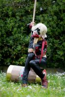Harley Quinn Cosplay from Injustice #3 by SerenityMoonCosplay