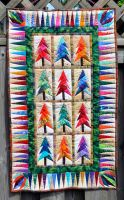 Quilted Trees by ladyiolanthe