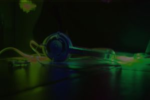 Painting with light Skullcandy by Ljtigerlily