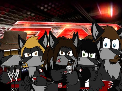 The New Wolfpack by AshleyWolf259