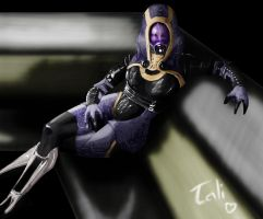 Tali'Zorah V2 Color by Lepoitt72