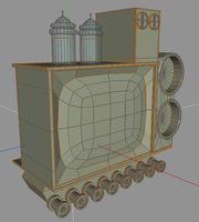 TV contraption WIP by pauljs75