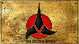 Klingon Empire Plaque by Dave-Daring