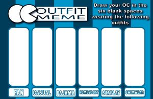 OC Outfit Meme by Mau506SK