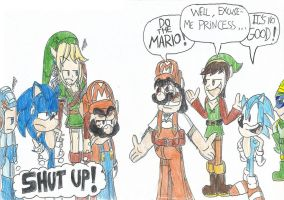 Original VG meet stupid old American VG... by FelixToonimeFanX360