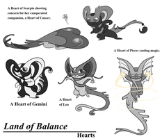 Land of Balance: Hearts by blinkpen