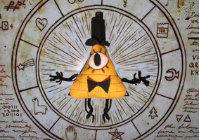 Bill Cipher Plush by The-Rebexorcist