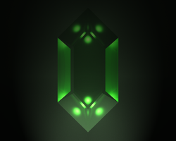 Glowing Rupee by StrikeFear13