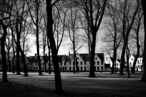 Beguinage Bruges by stijn